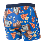 Saxx Saxx Underwear, Volt Boxer Brief, Mens, ACQ-Armchair Quarterback