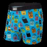 Saxx Saxx Underwear, Vibe Boxer Modern Fit, Mens, JKB-Blu Dad Joke Koozies
