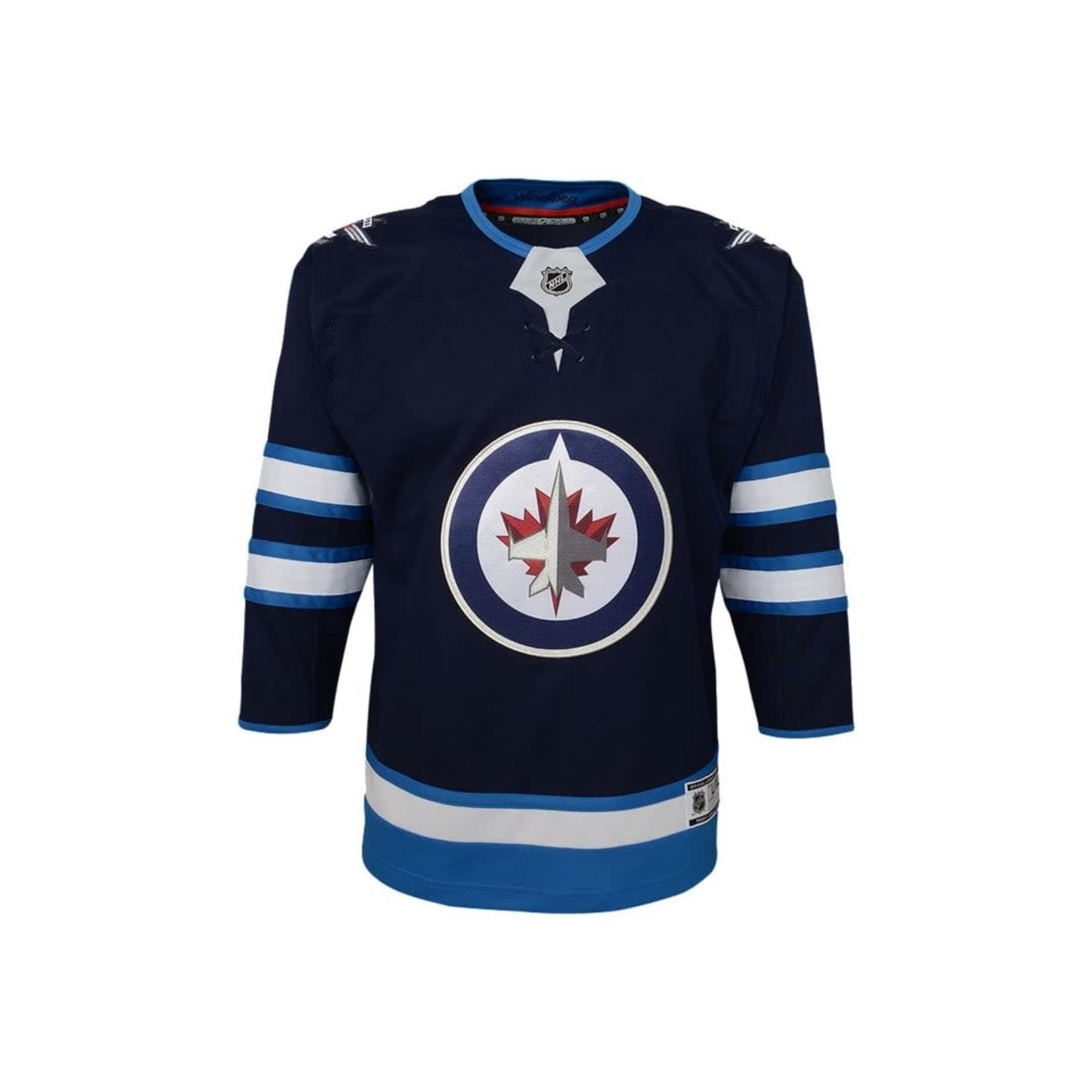 Outerstuff Outerstuff Hockey Jersey, Replica, Home, NHL, Child, Winnipeg Jets 4/7
