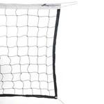 "360 Athletics Volleyball Net, 32' X 1M X 4"", Rope, Wht"