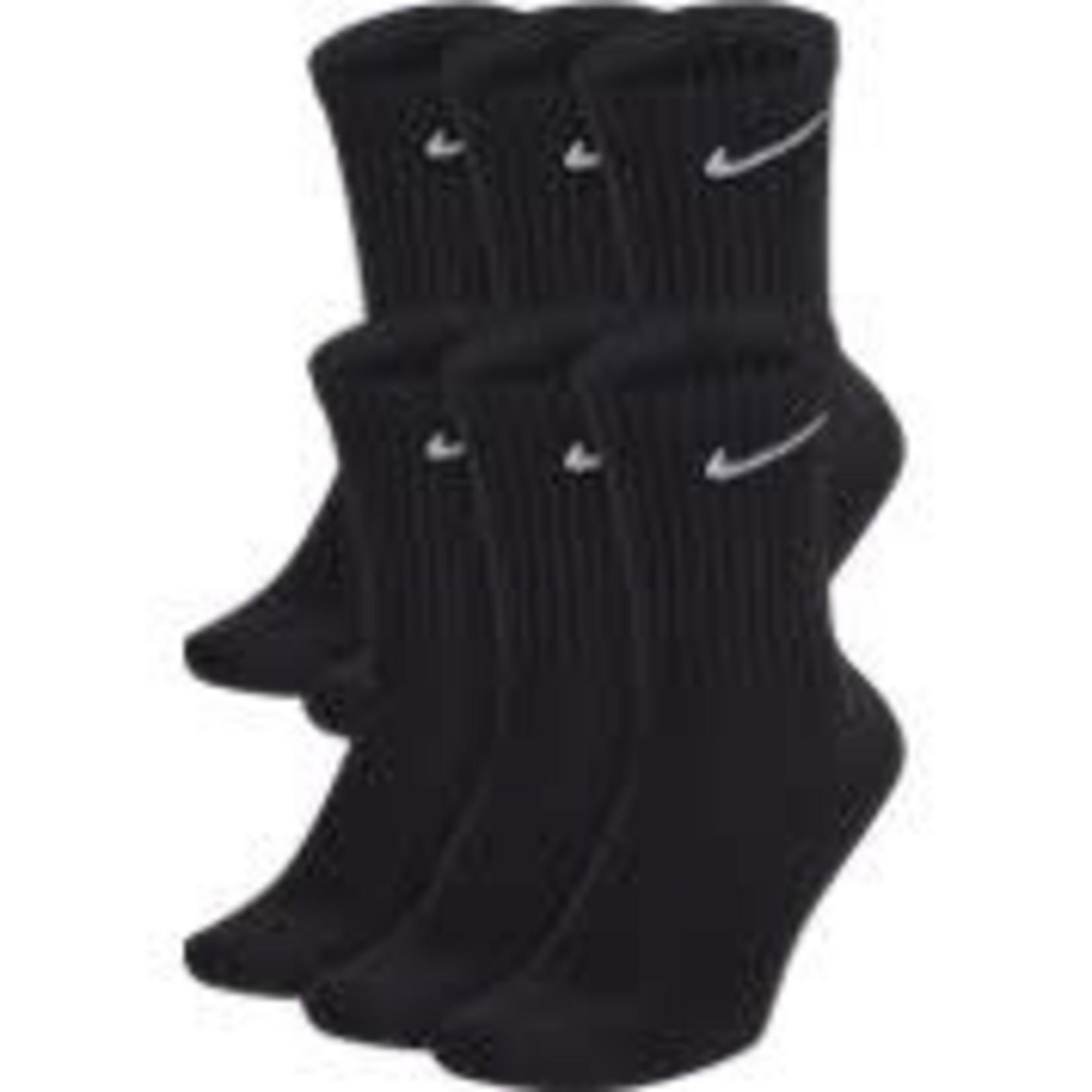 Nike Nike Socks, Everyday Cushioned Crew, 6-Pack