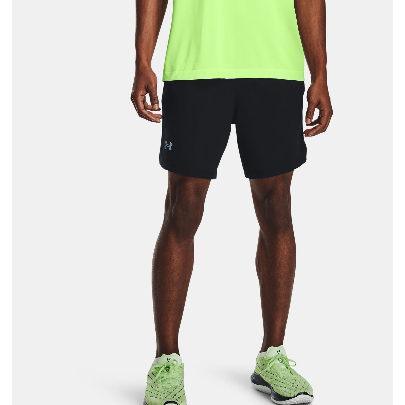 """Under Armour Under Armour 2-in-1 Shorts, Launch SW 7"""" 2N1, Mens"""