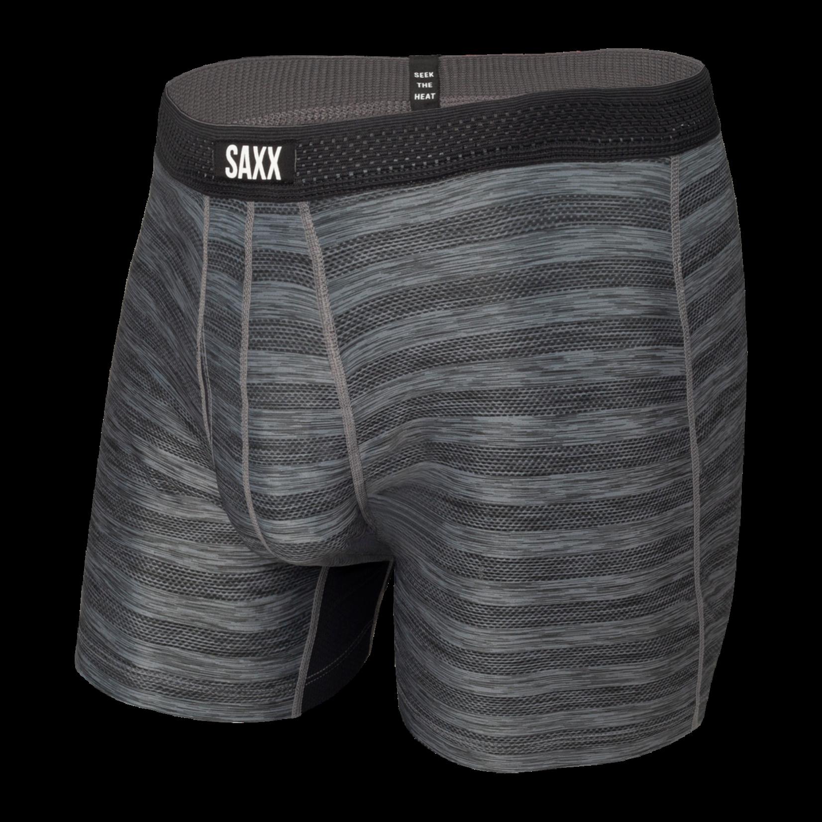 Saxx Saxx Underwear, Hot Shot BB Fly, Mens, BLH-Blk Heather