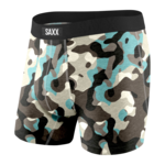 Saxx Saxx Underwear, Undercover Boxer Brief Fly, Mens, BOC-Blk Boulder Camo