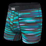 Saxx Saxx Underwear, Undercover Boxer Brief Fly, Mens, RSB-Blk Reflective Stripe