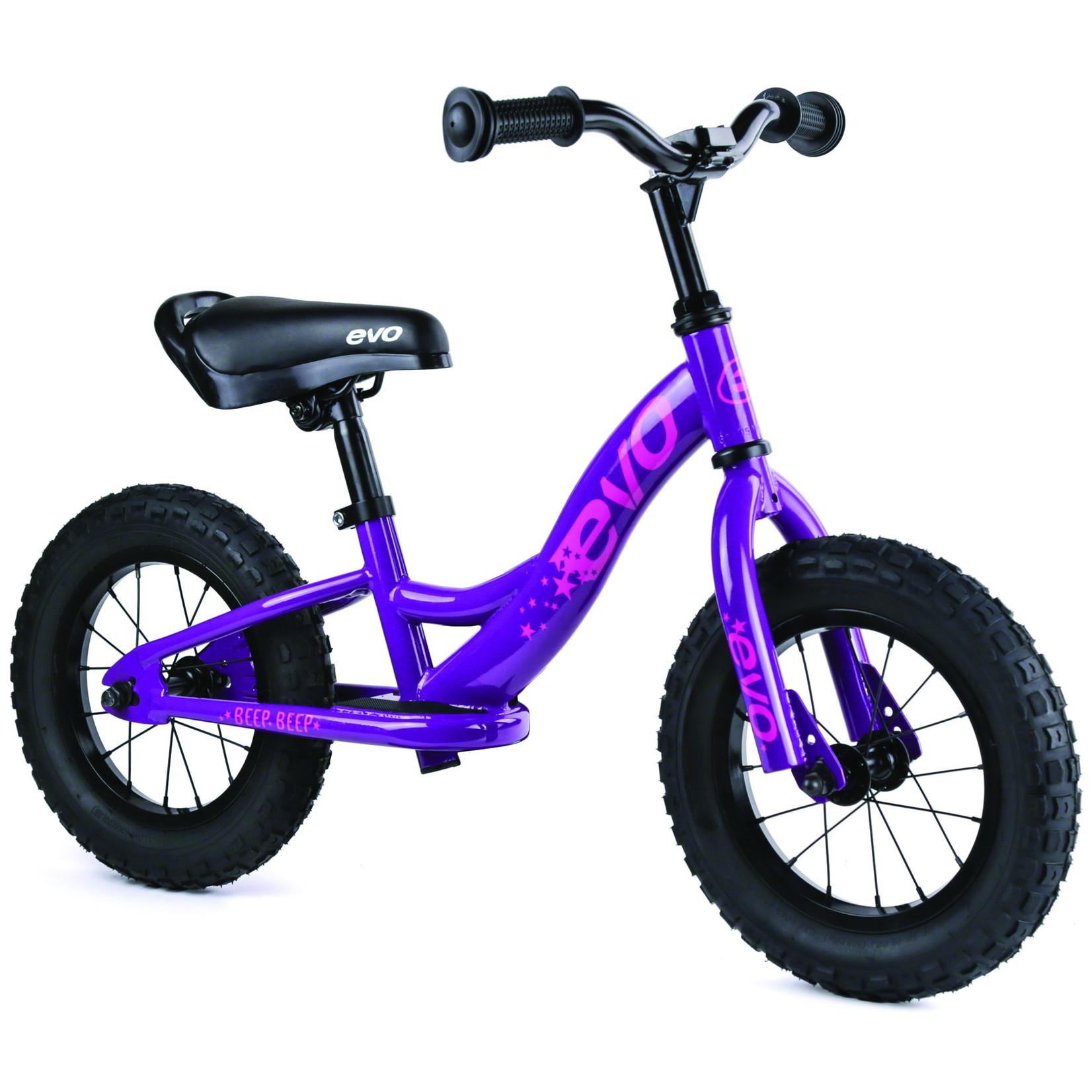 Evo Evo Balance Bike, Beep Beep, Purpling Pur, Kids