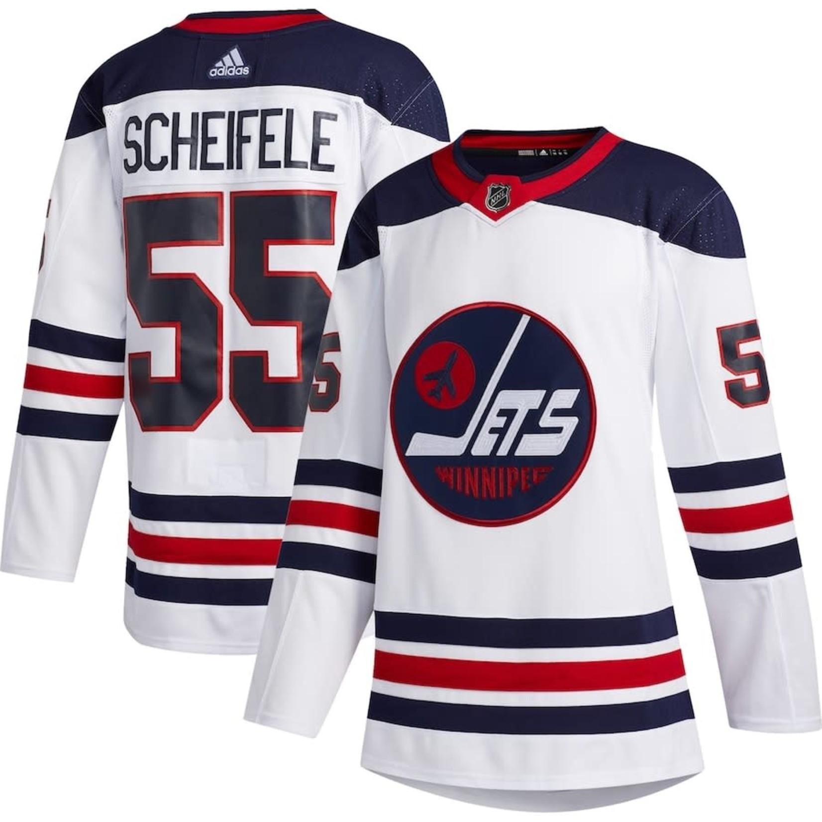 Adidas Adidas Hockey Jersey, Authentic, Mens, NHL, Winnipeg Jets, Heritage Wht, Mark Scheifele