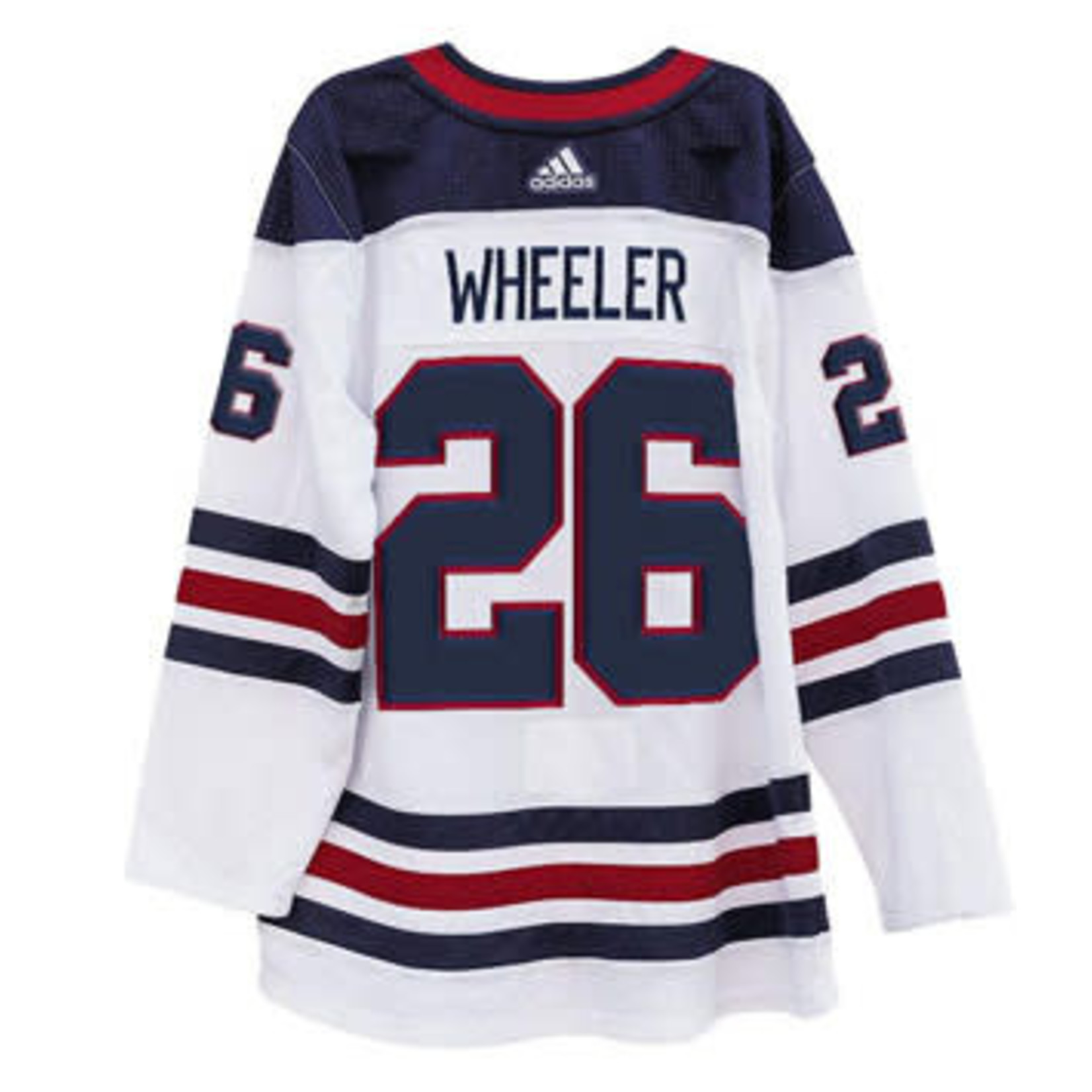 Adidas Adidas Hockey Jersey, Authentic, Mens, NHL, Winnipeg Jets, Heritage Wht, Blake Wheeler