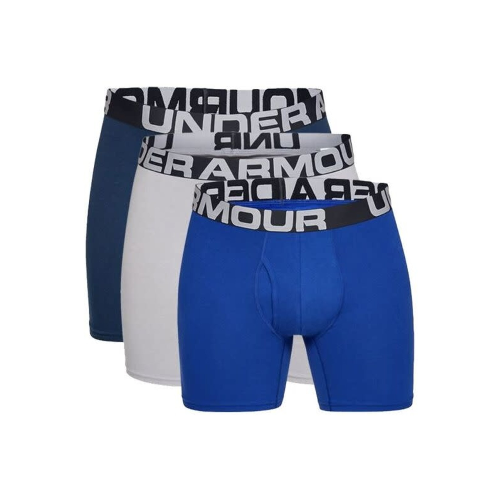 """Under Armour Under Armour Underwear, Charged Cotton 6"""", 3-Pack, Mens"""