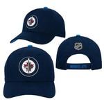 Outerstuff Outerstuff Hat, Basic Structured Adjustable, NHL, Winnipeg Jets, Kids, OS