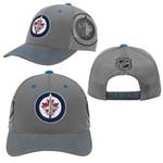 Outerstuff Outerstuff Hat, Structured Meshback Adjustable, NHL, Winnipeg Jets, Youth, OS