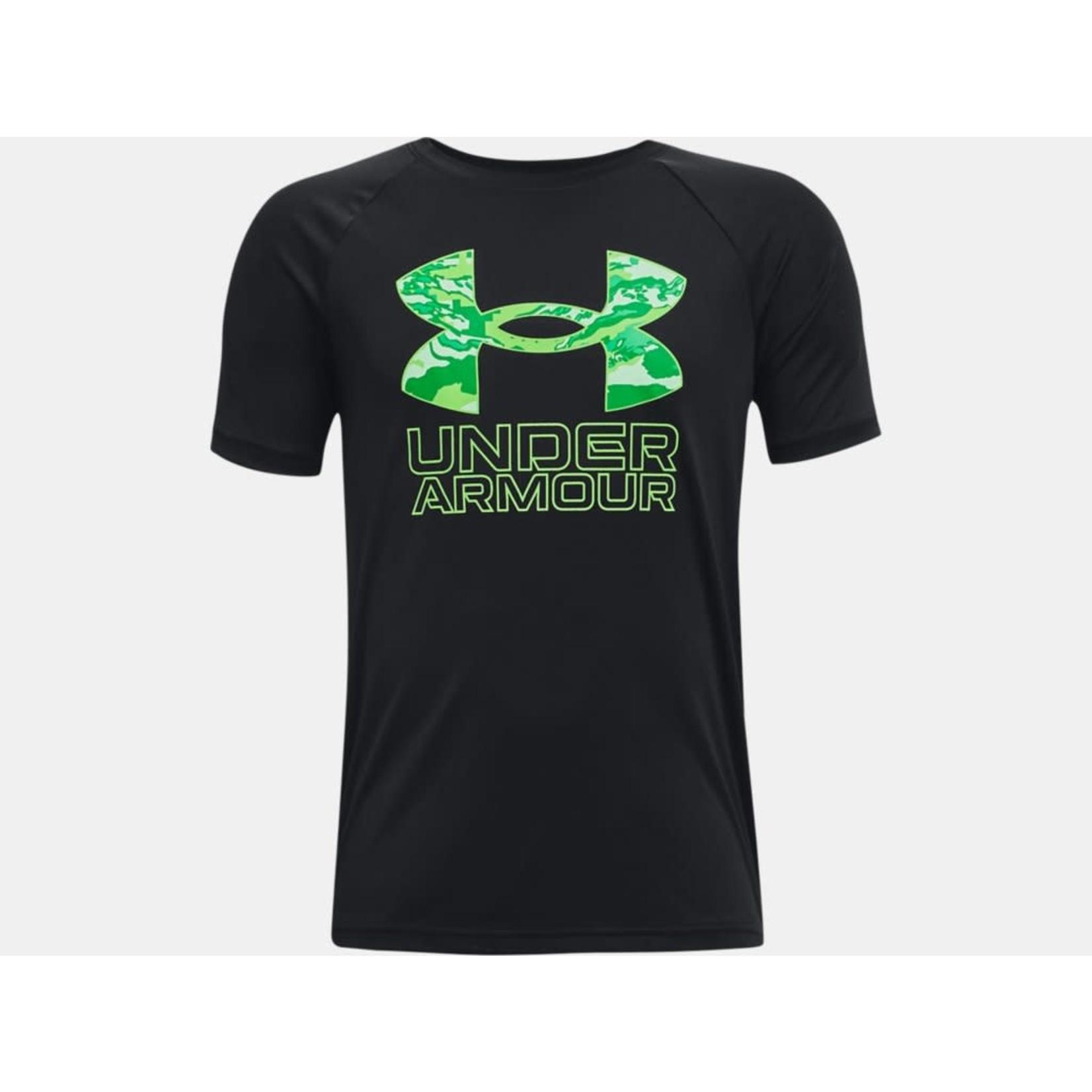 Under Armour Under Armour T-Shirt, Tech Hybrid Print Fill SS, Boys