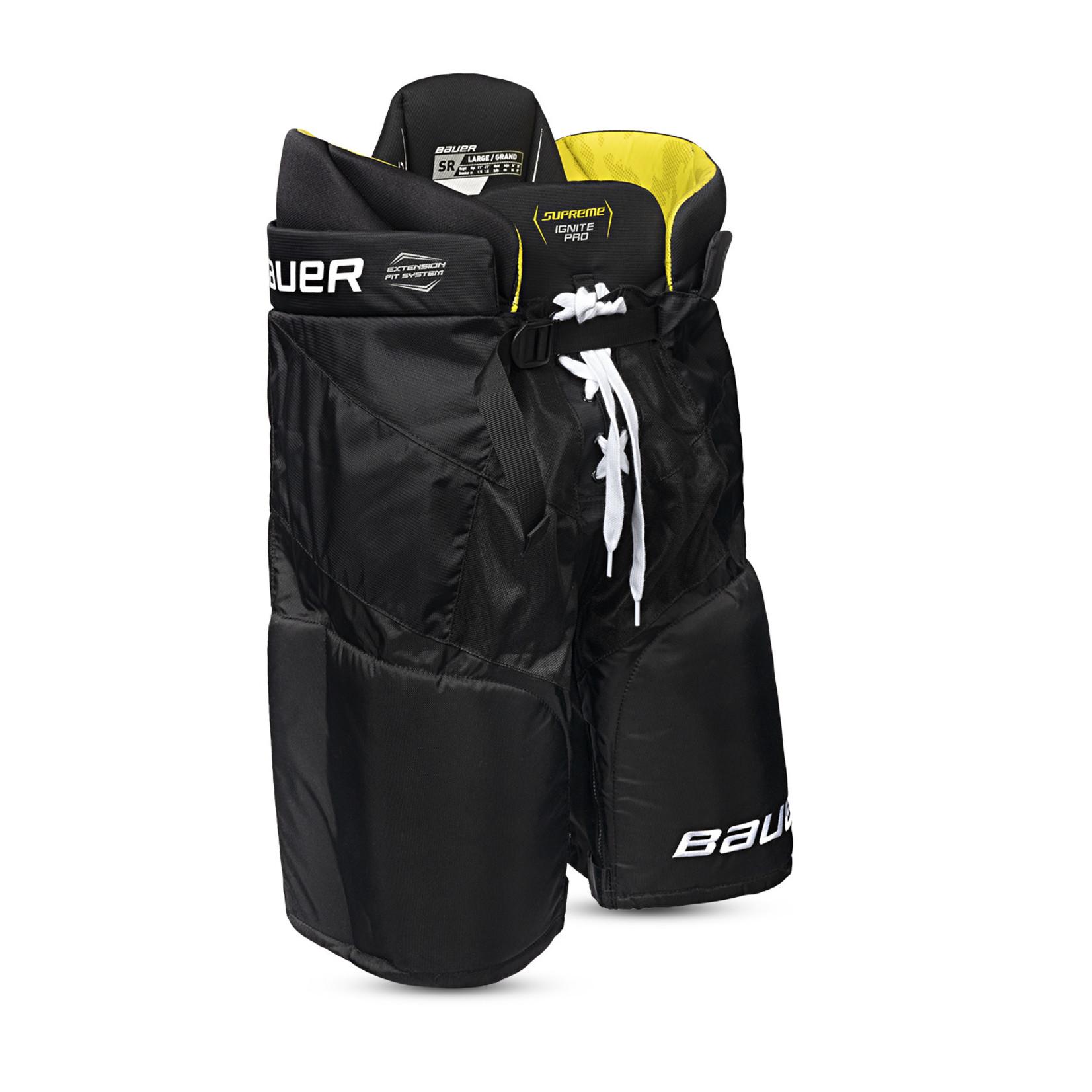 Bauer Bauer Hockey Pants, Supreme Ignite Pro, Junior