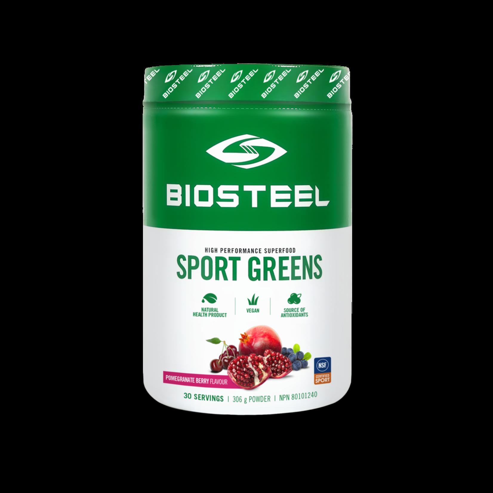 BioSteel Biosteel Sport Greens, Pomegranate Berry, 306g