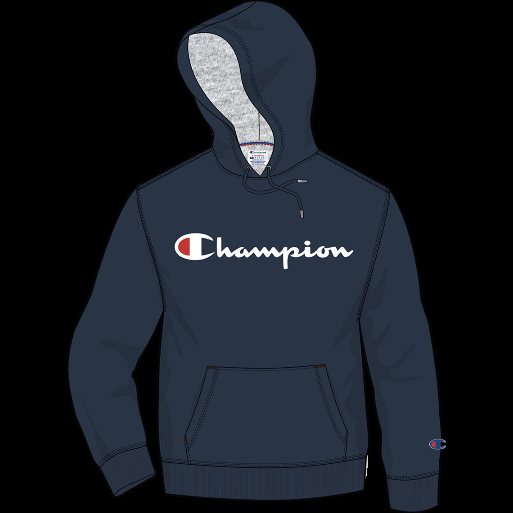Champion Champion Hoodie, Powerblend Graphic, Mens