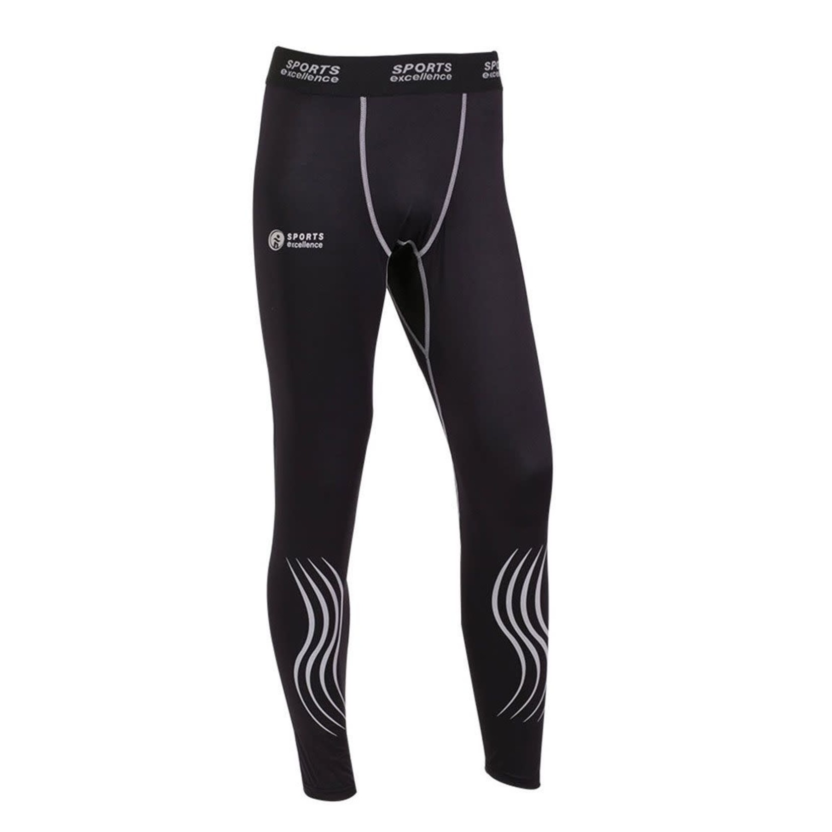 Sports Excellence SEC Compression Pants, TI50 Gel, Mens