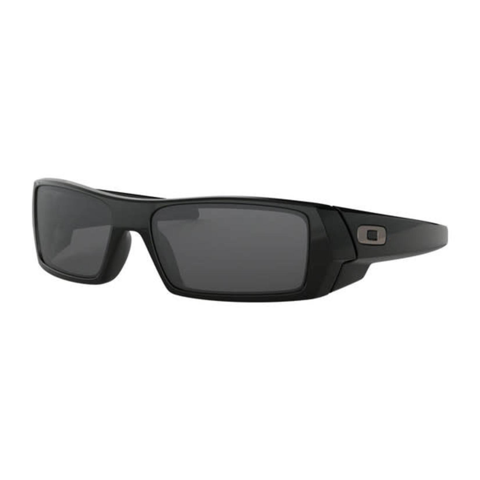 Oakley Oakley Sunglasses, Gascan, Polished Blk, Gry