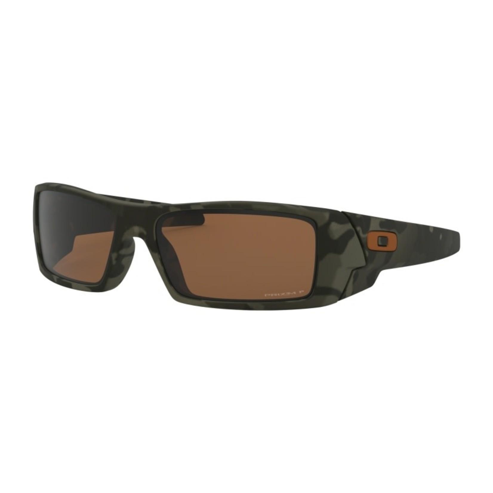 Oakley Oakley Sunglasses, Gascan, Matte Olive Camo, Prizm Tungsten Polarized