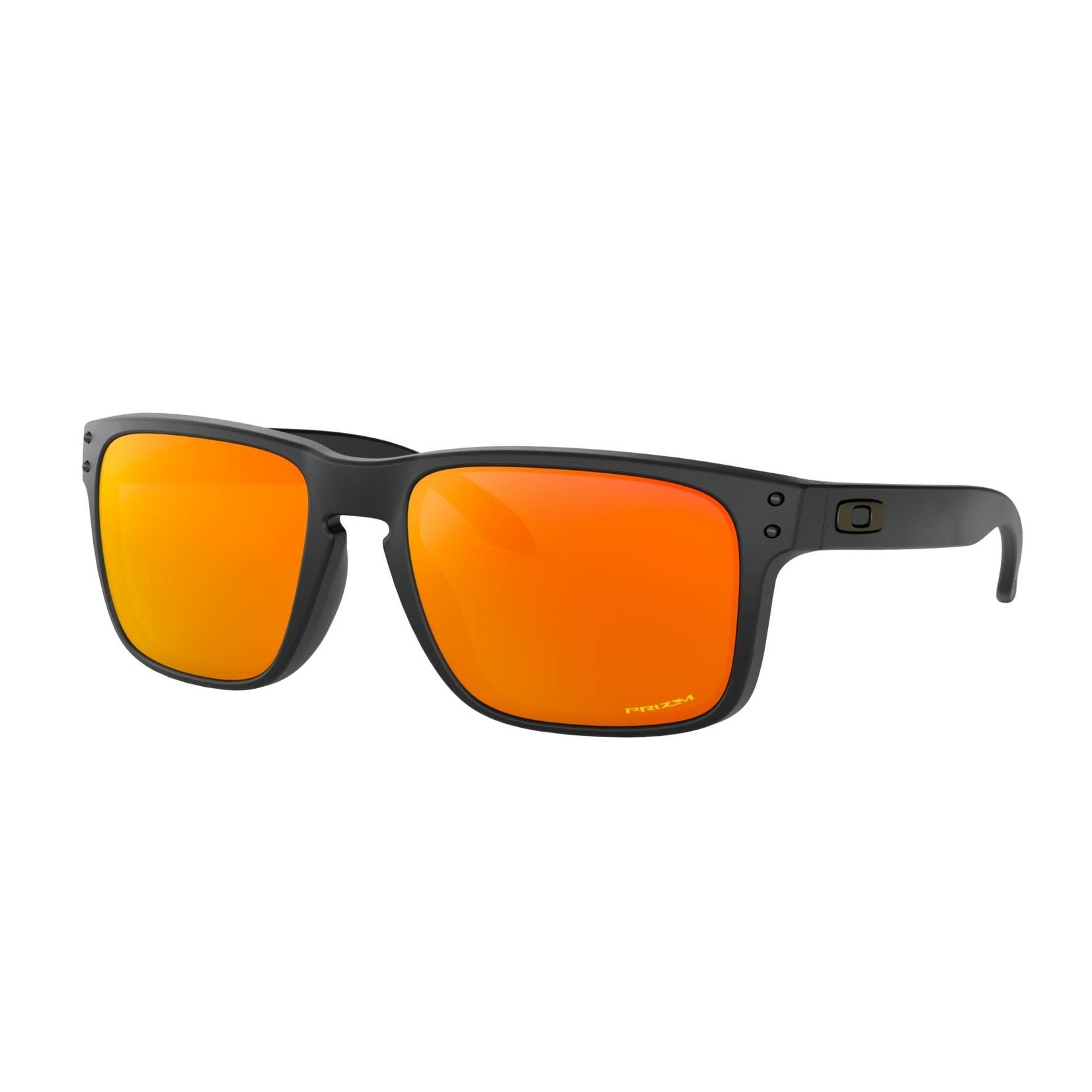Oakley Oakley Sunglasses, Holbrook, Matte Blk, Prizm Ruby