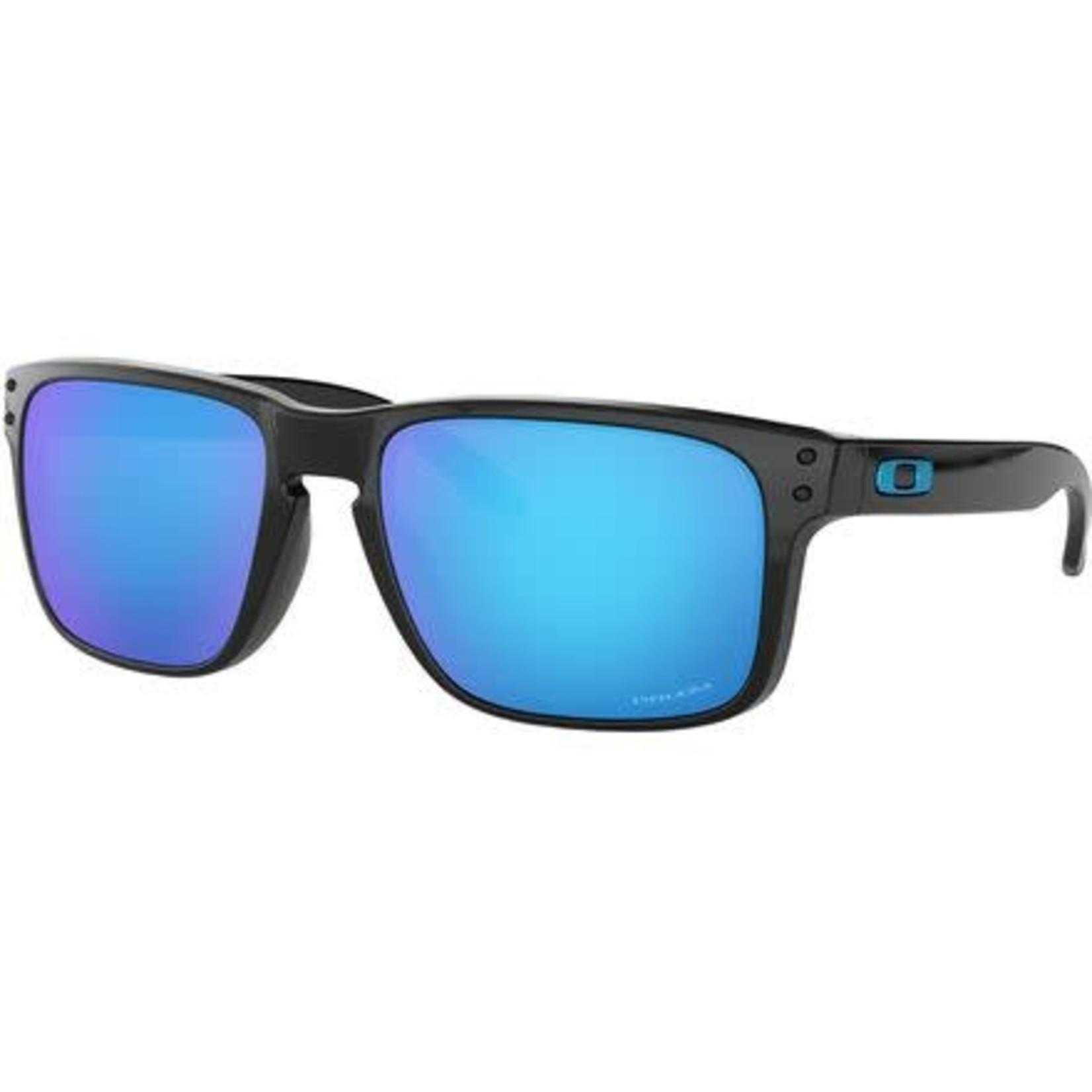 Oakley Oakley Sunglasses, Holbrook, Polished Blk, Prizm Sapphire