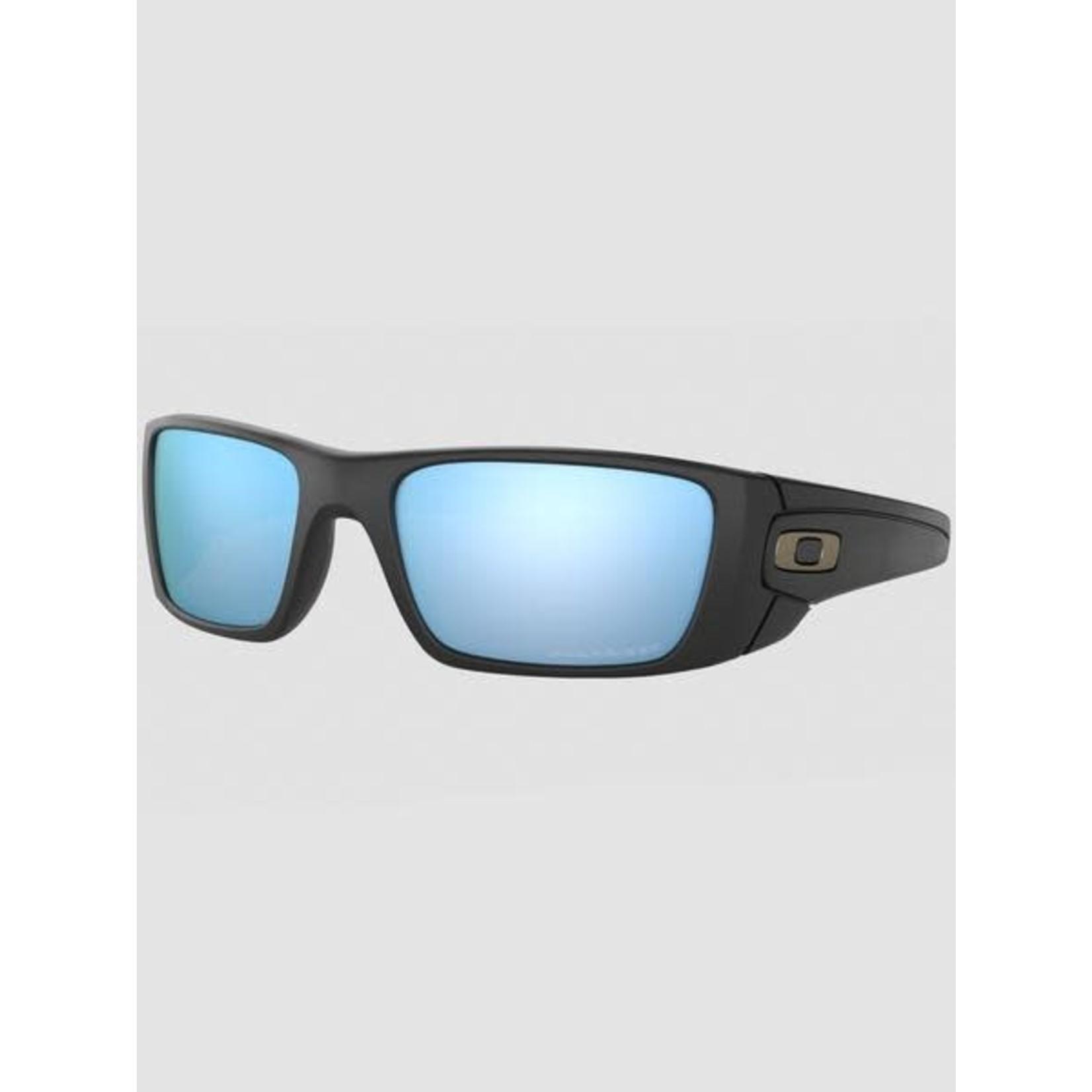 Oakley Oakley Sunglasses, Fuel Cell, Matte Blk, Prizm Deep Water Polarized