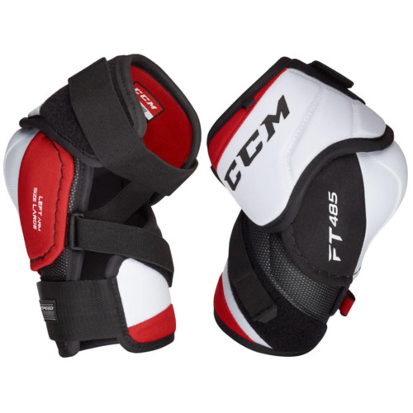 CCM CCM Hockey Elbow Pads, Jetspeed FT485, Junior