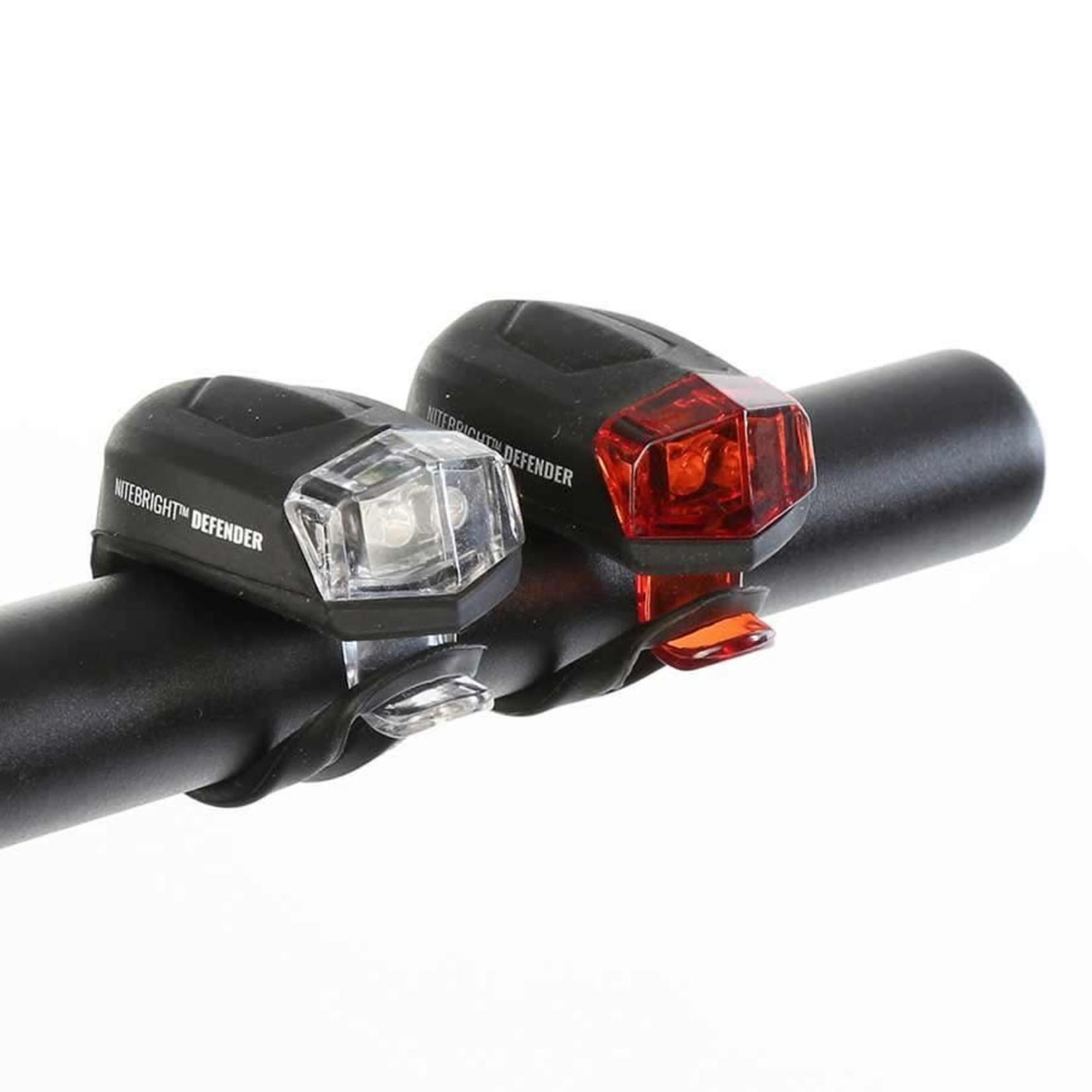 Evo Evo Bike Light Set, NiteLight Defender, Blk