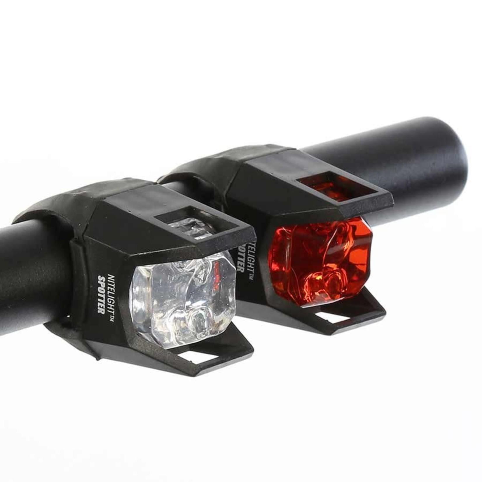 Evo Evo Bike Light Set, NiteLight Spotter, Blk