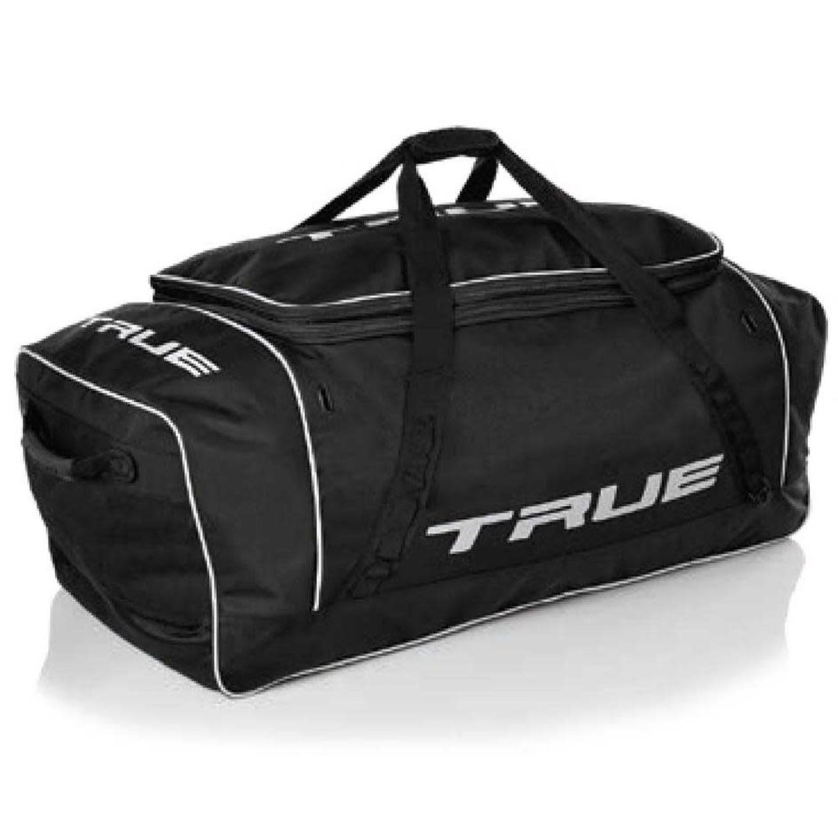 "True Hockey True Hockey Bag, Core Player Carry, 39"" X 16"" X 15"", Blk/Wht"