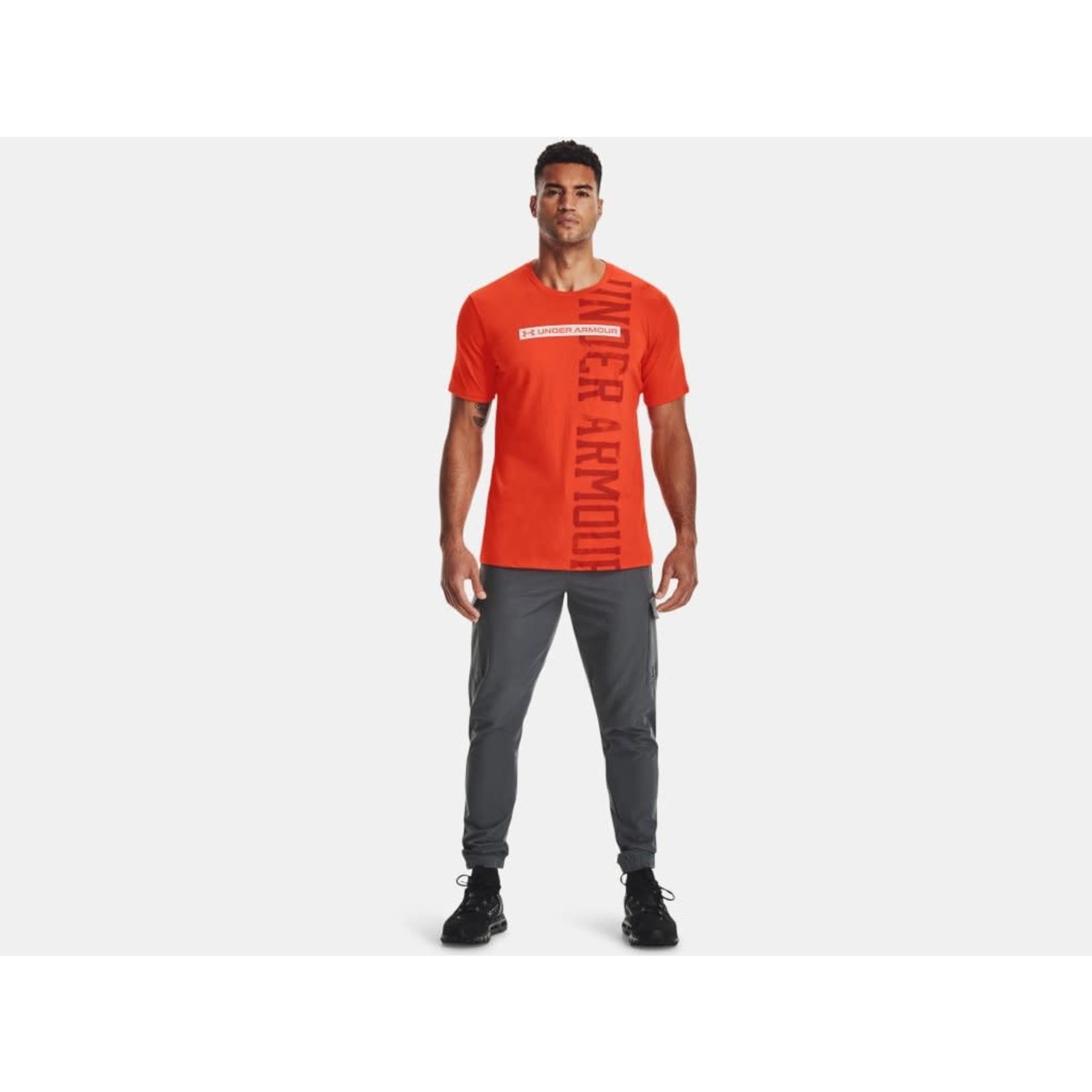 Under Armour Under Armour T-Shirt, Vertical Signature, Mens