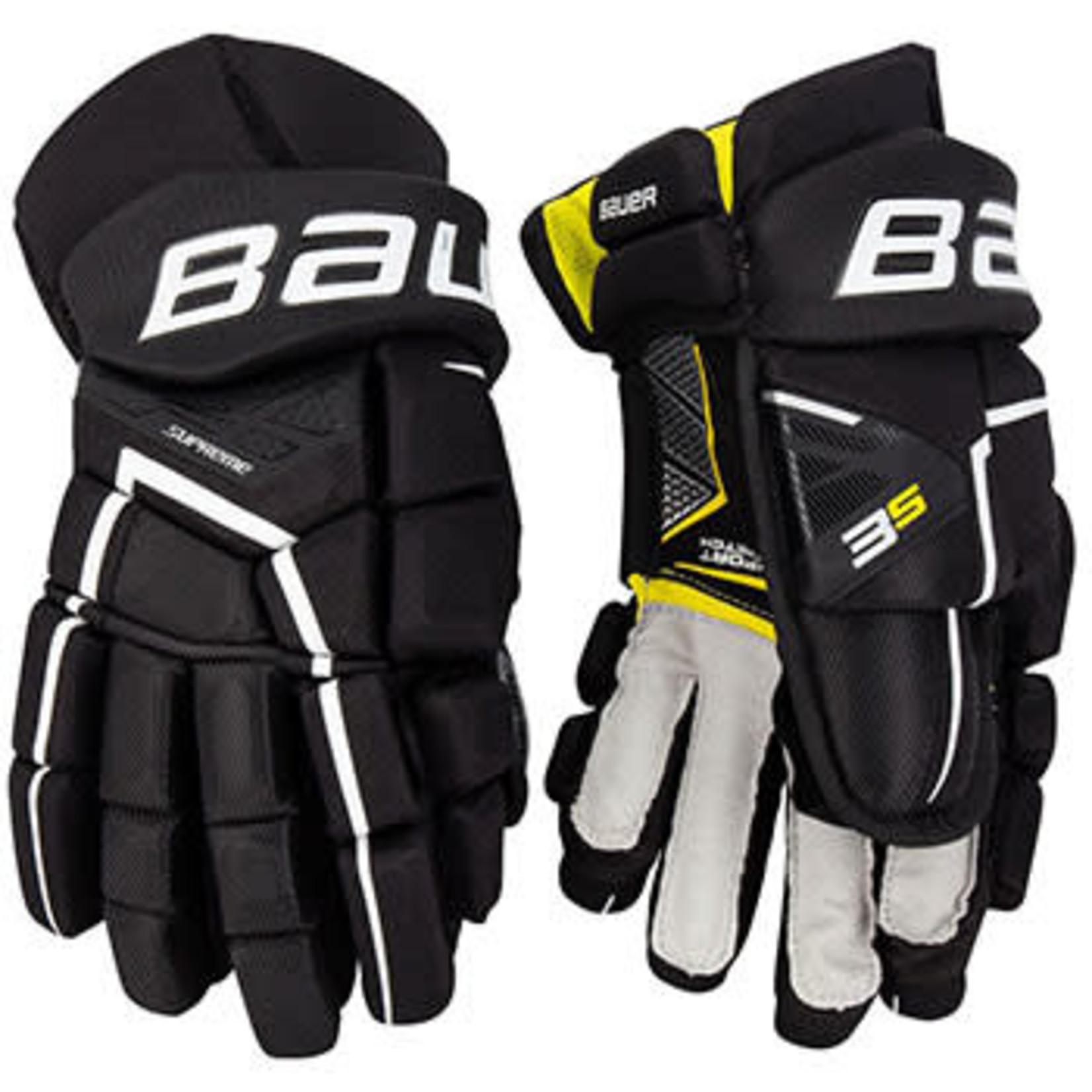 Bauer Bauer Hockey Gloves, Supreme 3S, Intermediate