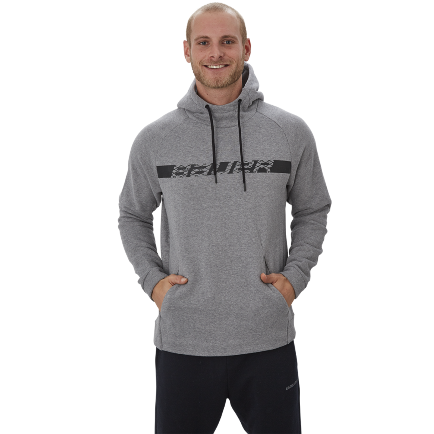 Bauer Bauer Hoodie, Perfect Graphic, Mens