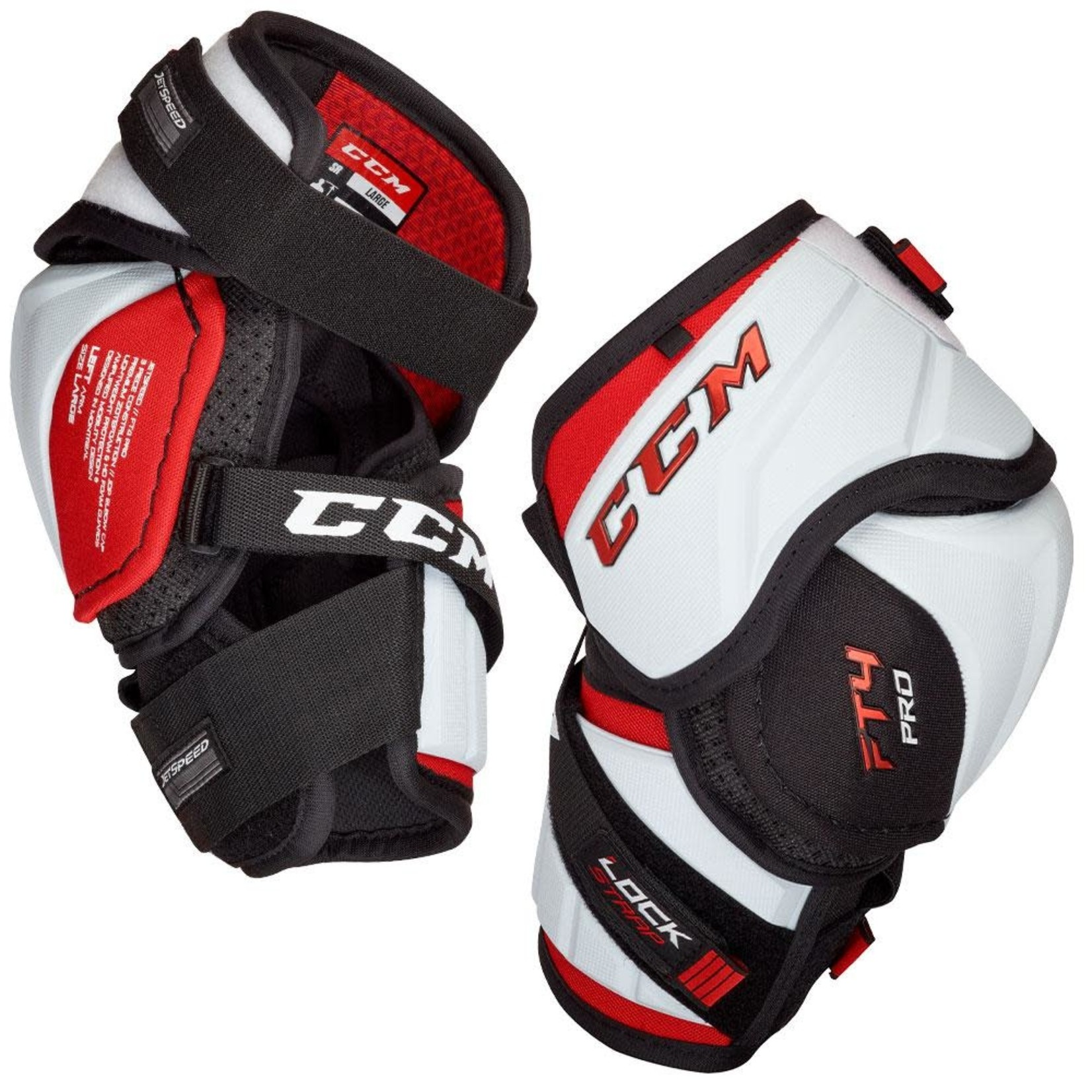 CCM CCM Hockey Elbow Pads, Jetspeed FT4 Pro, Senior