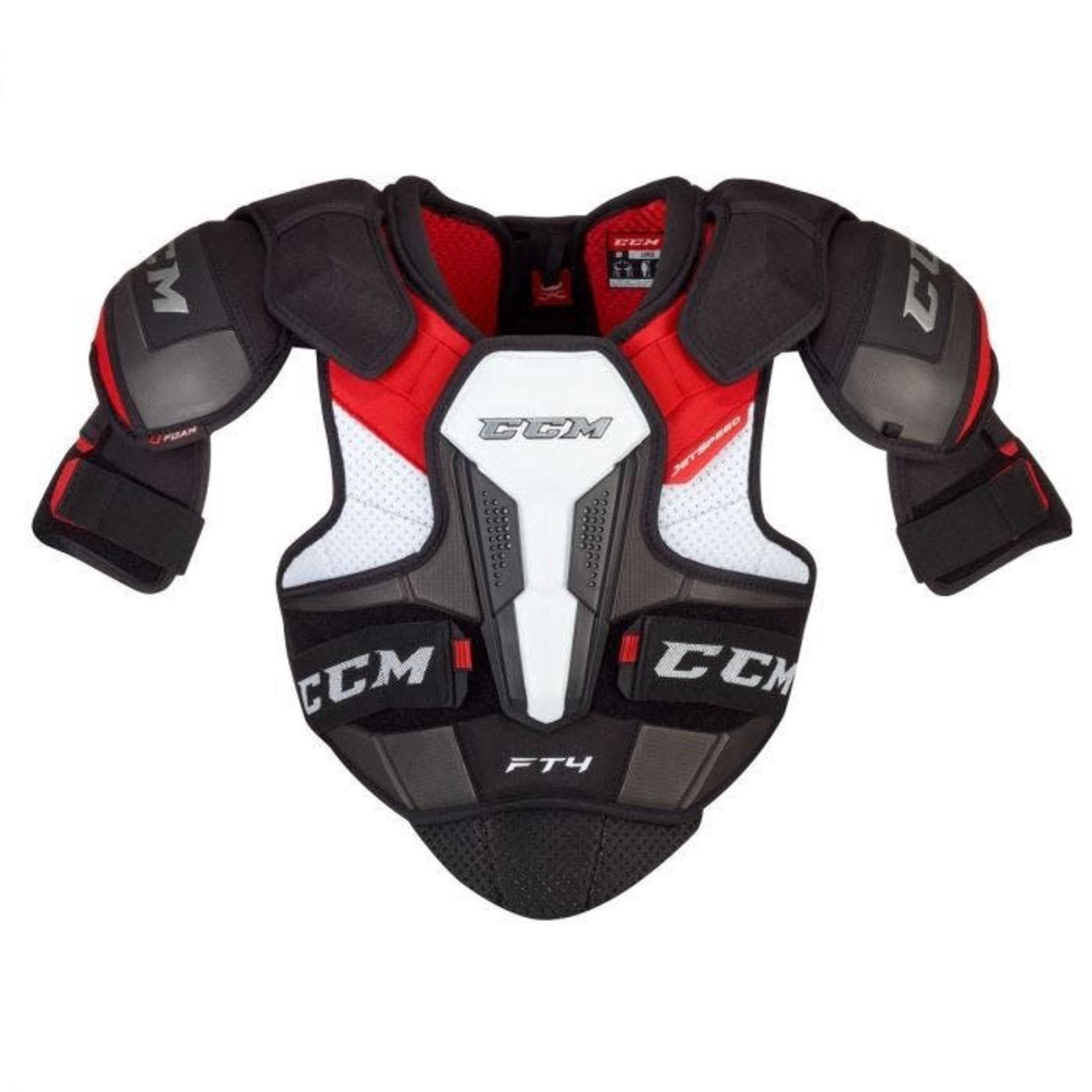 CCM CCM Hockey Shoulder Pads, Jetspeed FT4, Senior