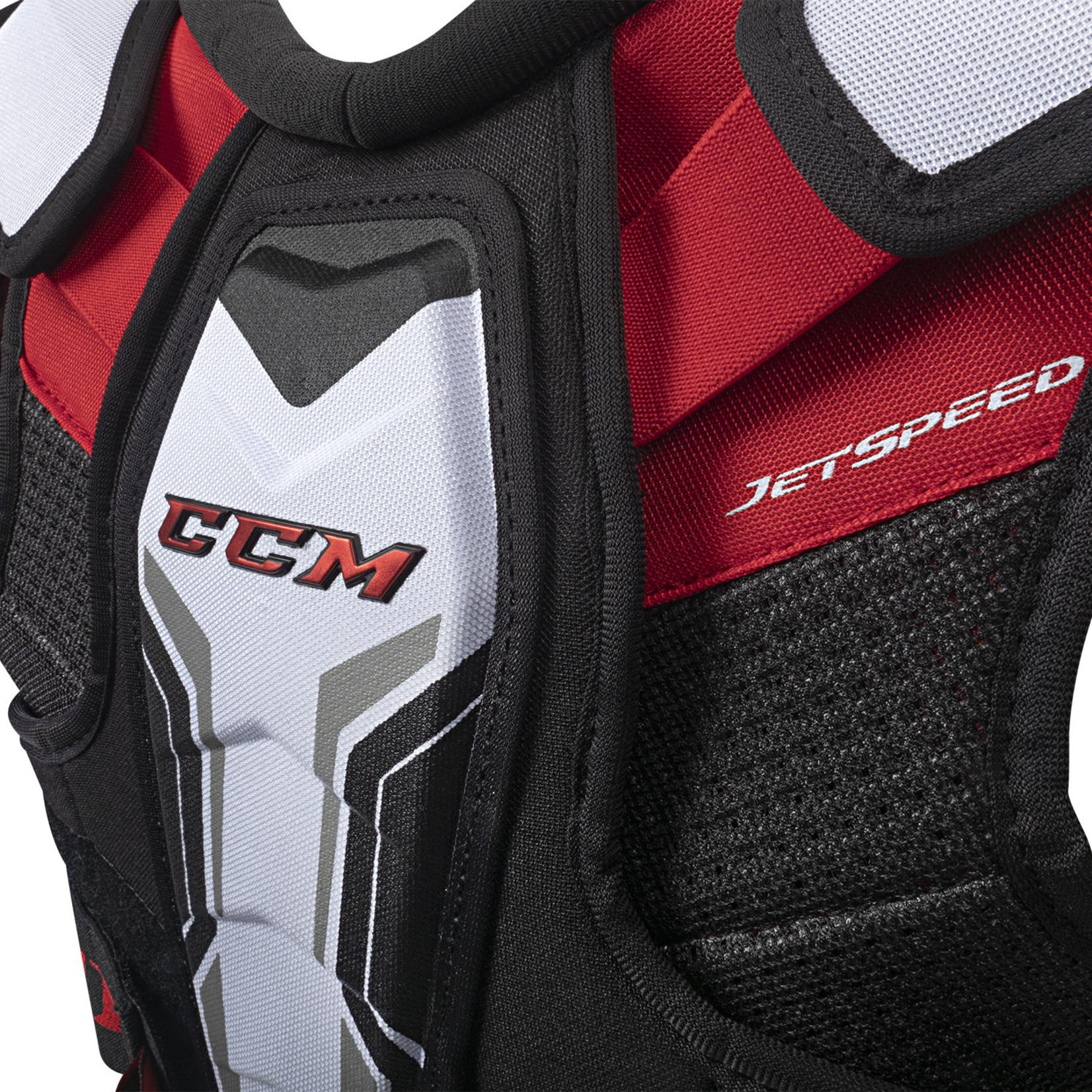 CCM CCM Hockey Shoulder Pads, Jetspeed Xtra Plus, Senior