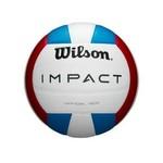 Wilson Wilson Volleyball, Impact, Indoor, Red/Wht/Blu