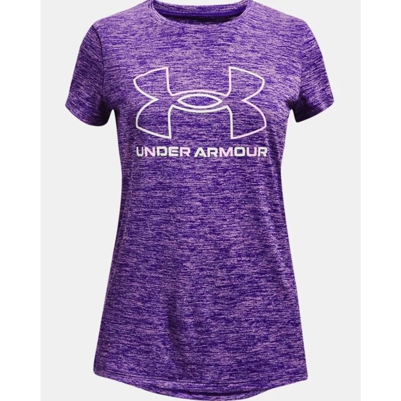 Under Armour Under Armour T-Shirt, Tech BL Twist, Girls