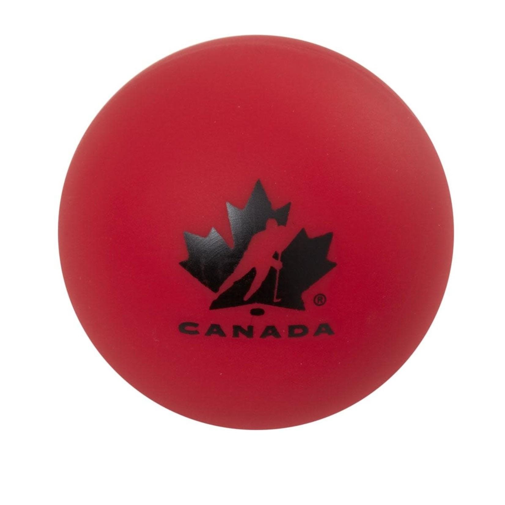 Hockey Canada Street Hockey Ball, Hard, Red