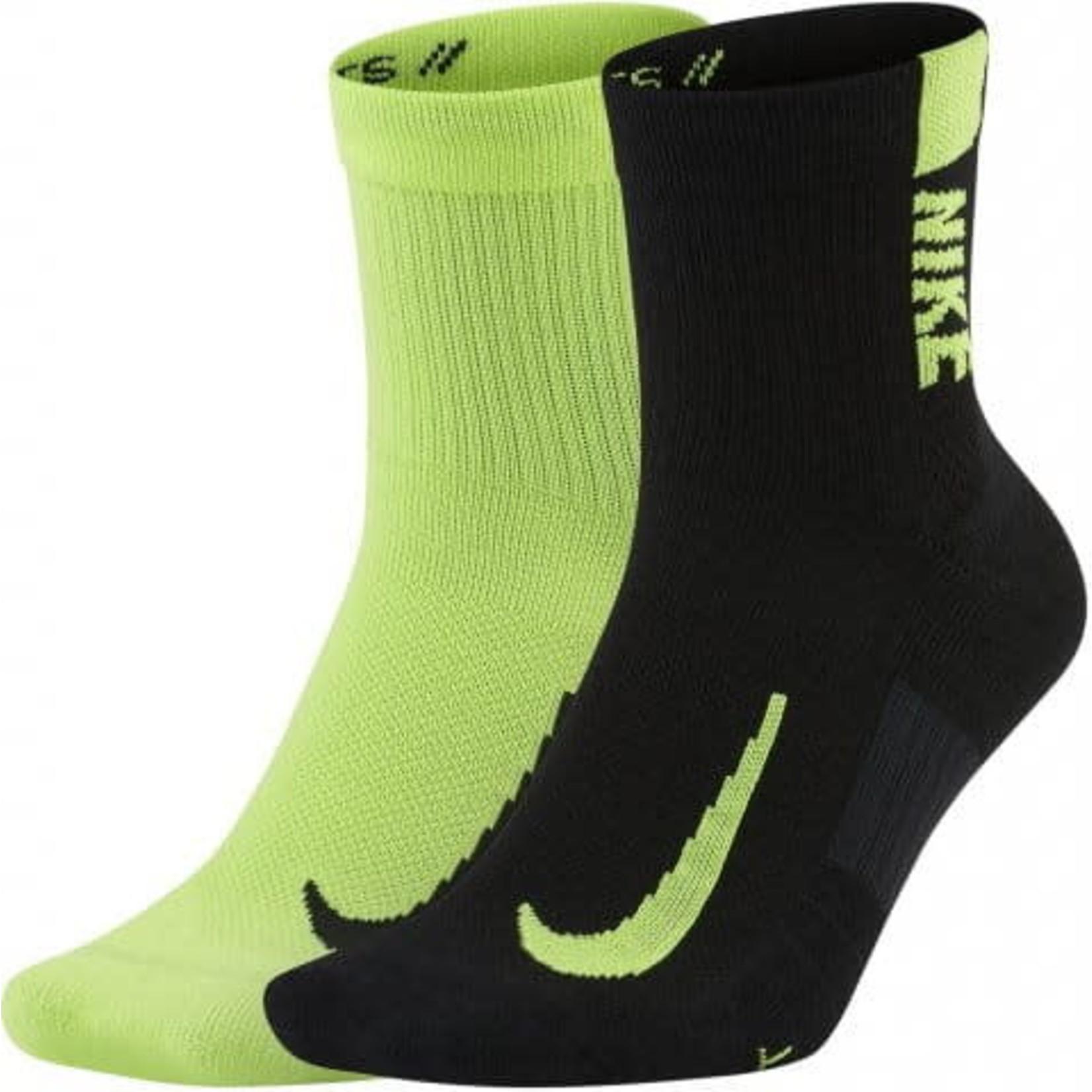 Nike Nike Socks, Multiplier Ankle, 2-Pack