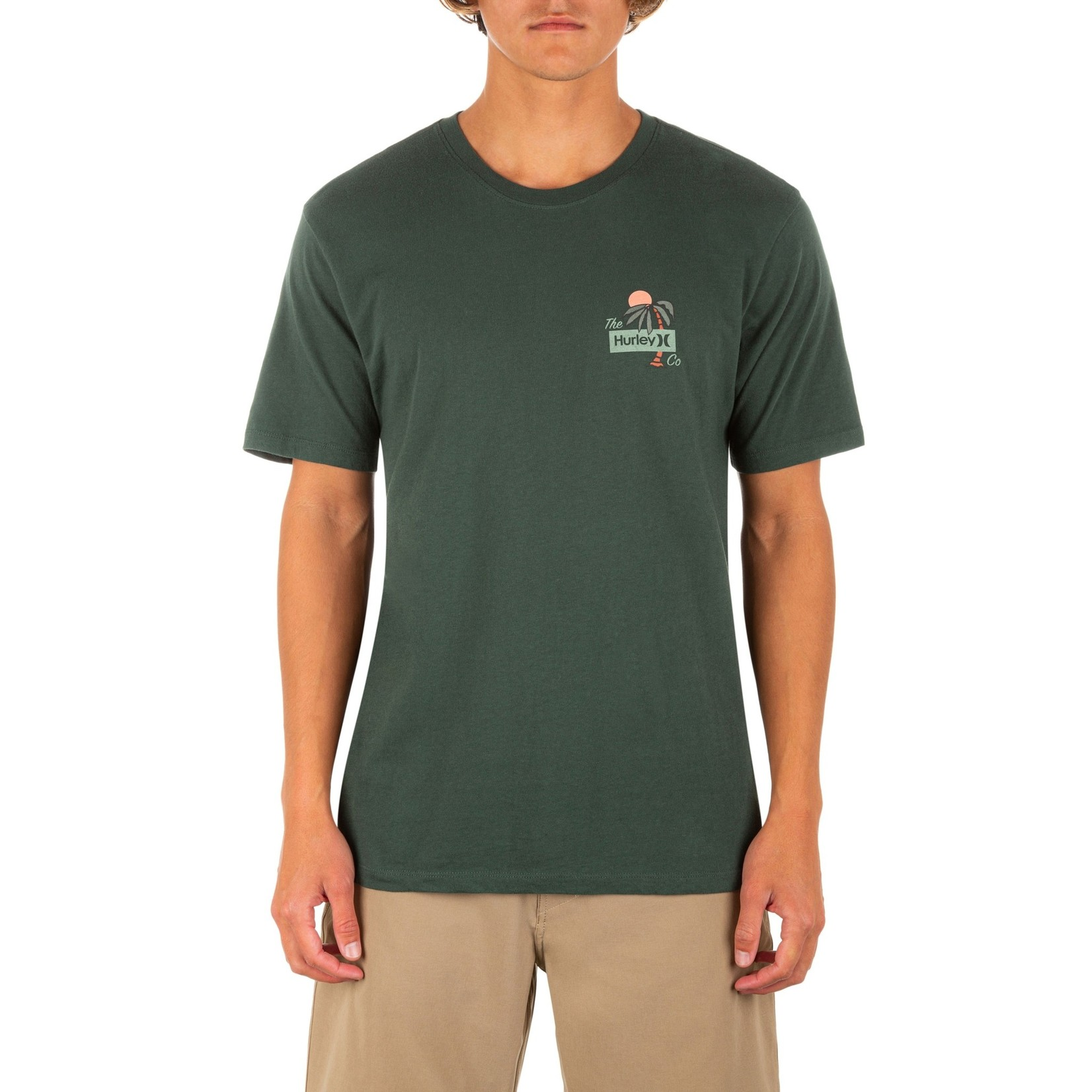 Hurley Hurley T-Shirt, Everyday Washed Welcome to Paradise SS, Mens