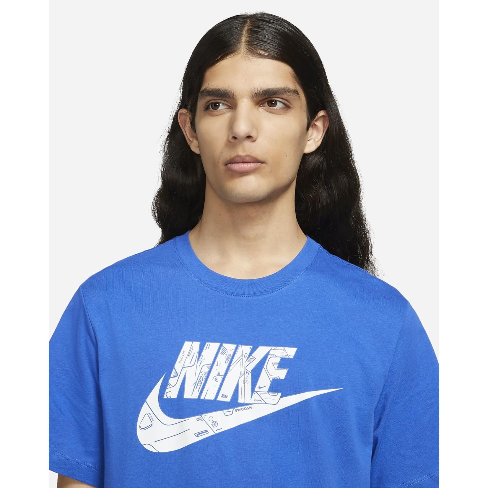 Nike Nike T-Shirt, Sportswear Mech Air, Mens