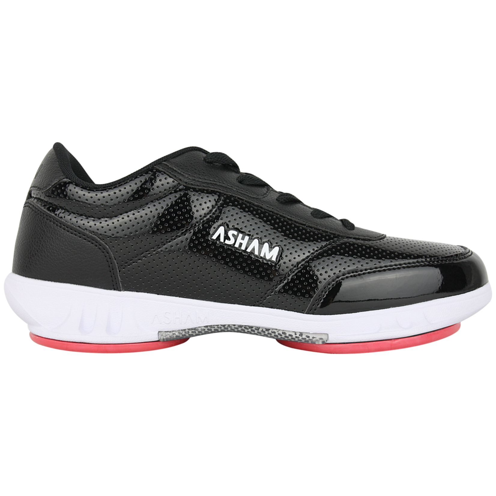 Asham Asham Curling Shoes, Ace Ultra Lite Rotator, Mens