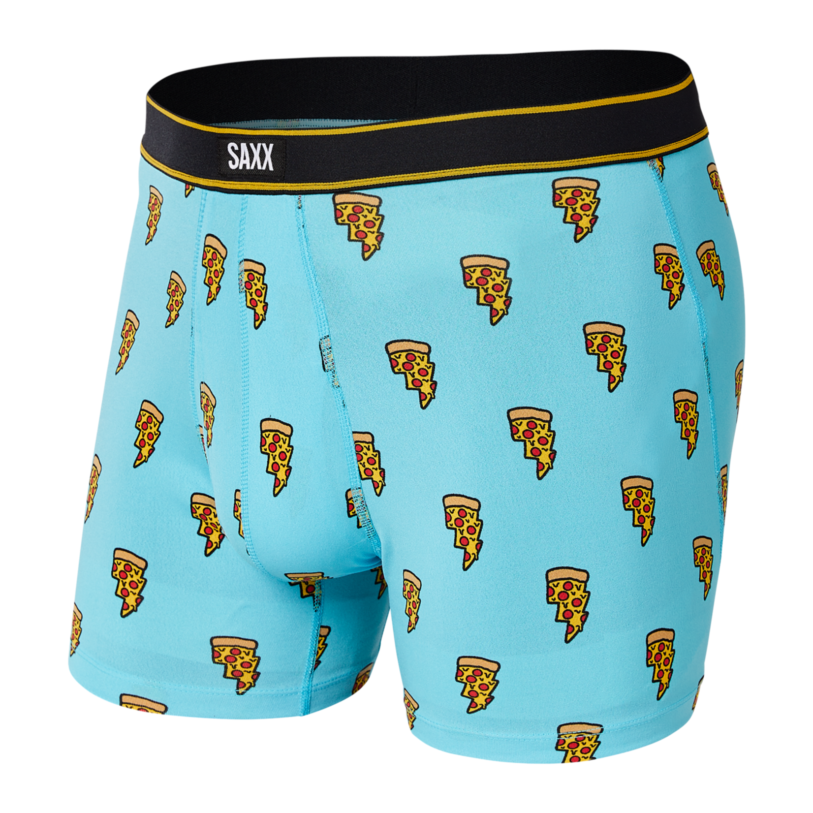 Saxx Saxx Underwear, Daytripper BB Fly, Mens, PBB-Blu Pizza Bolt