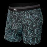 Saxx Saxx Underwear, Sport Mesh BB Fly, Mens, FGB-Blu Fangtastic