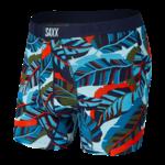Saxx Saxx Underwear, Vibe Boxer Modern Fit, Mens, PJB-Blu Pop Jungle
