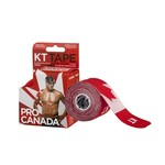 KT Tape KT Kinesiology Therapeutic Tape, Pro Canada Red OS