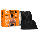 KT Tape KT Kinesiology Therapeutic Tape, Pro Wide, Jet Blk