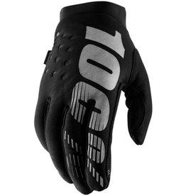 100% 100% - BRISKER  Glove Black/Grey L