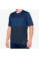 100% 100% - Men's  AIRMATIC Jersey Blue/Midnight - S