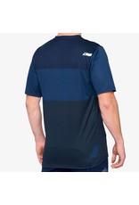 100% 100% - Men's  AIRMATIC Jersey Blue/Midnight - XL